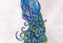 Peacocks / by Angie Novoa