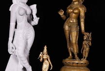 Hindu Goddess Devi / by Lotus Sculpture