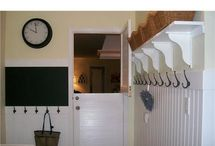 Decorating - Laundry/Mud Room / by Stephanie @ The Cozy Old Farmhouse