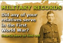 Military Records Research / by Annette Berksan