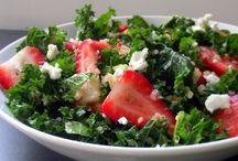 Salads and Sandwiches / http://pinterest.com/lkjuhl/salads/settings/# / by Linda Juhl