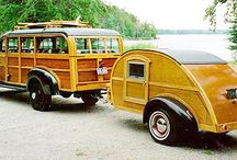 vintage autos, vintage travel trailers / by Jean Forster