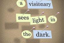 Words of Wisdom / by Cristina Perez