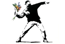 Street art / Banksy / Artiste britannique. Site officiel : http://www.banksy.co.uk/ / by Valérie WINTZ