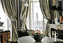 Black and white interiors / by Michele Fortune