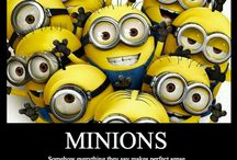 Minions!!! / by Kelly Easter