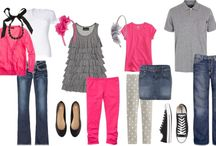 Family photo outfits / by Desirae Willms