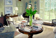 ART - INTERIORS IN ART / by RedSeaCoral