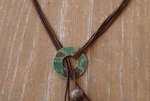 Leather Necklace / by Esraa Ahmed
