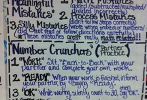Math--Anchor Charts / by Rochelle Wentz