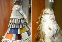 paper fashion / by Lori Siebert