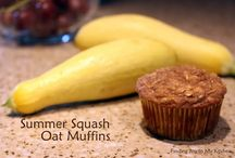 Zucchini & Summer Squash / by Finding Joy In My Kitchen