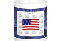 2018 Calendar Mugs by Janz / Calendar Designs by Janz © 2008-2014 Jan Fitzgerald. All rights reserved. Graphic Design, Artwork, & Photography by Jan & Michael Fitzgerald. / by Calendars By Janz