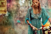 Favorite Things - Boho, Gypsy, Romantic, Vintage Style - attire and accessories / Life is too short to wear boring clothes.  / by Janet U.