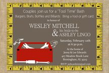 handyman party invites / by Donna Hall