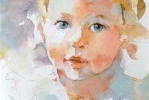 Paintings - People/Portraits / by Cheryl N
