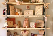 Pretty Displays for Stitched Pieces / by Denise Thornton