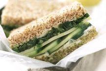 Recipes: Sandwiches / by Tina Voller-Ewert