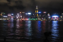 Hong Kong  / Hong Kong's harbor dazzles with neon at night, but the synchronized Symphony of Lights laser show takes the nightly spectacle to another level. Cruise Hong Kong's Victoria Harbour aboard a traditional Chinese sightseeing junk and enjoy an uninterrupted view of this dazzling light show for an unforgettable evening in Hong Kong. / by John Gerrard