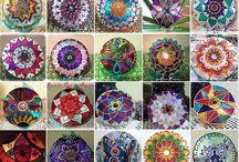 Mandalaspatronesdiseños / Diseños diversos para pintura, grabado, pirograbado, etc. / by Maria Luisa Moreno