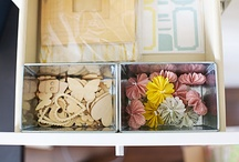 DT - storage and organization / by Studio_Calico