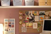 Closet Office / by Michelle Sullins