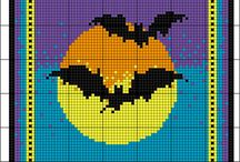 fall and halloween cross stitch / by Brenda Hardie
