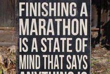 marathon / by Megan Tuttle 'Crouse'