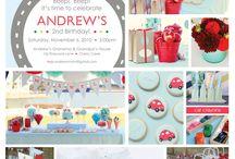 birthday parties / by Annie Stenger