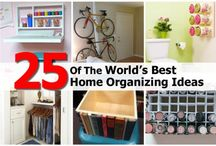 Getting Organized! / by Lisa Bellot