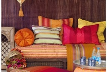 Ethnic- Indian, Bohemian, Moroccan Home Decor / Why do I love Moroccan home decor... partly perhaps because it's so close to home... being Indian! All the pretty colors and scrolls, motifs... takes me in a fairy world. / by Japp Dev-Virk
