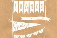 Free Thanksgiving Printables / by Fab N' Free
