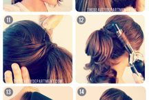 hair that I like to try! / by Cher Mcmillan