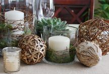 Center of Attention / Centerpiece Ideas / by Shelia Vinson