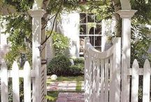 Behind the picket fence / by Dorena and Bruno
