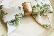 Napkin Folding Ideas / by DIY Weddings® Magazine