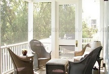 Front Porch & Back Patio / by Lori Dube'