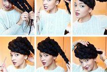 box braids styles / by Adriana Dutton