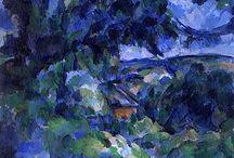 Artist: Paul Cezanne / by Art by Wietzie