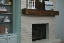 fireplace ideas / by Sarah Lorence Johnson