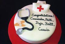 Graduation Cakes NJ - Sweet Grace, Cake Designs / by Sweet Grace, Cake Designs