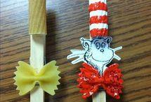 Dr. Seuss Week at daycare  / by Alyssa Brown