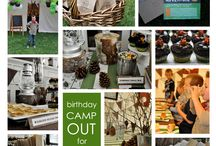 Camping Party: 7yrs / by Colleen Walbrecker