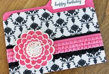 Envelope Punch Board Projects 2013 / by Kathy Wayson