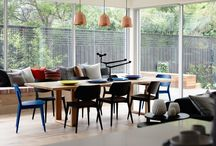 Tables en bois salle a manger / by Sarah Zaquine