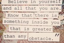 Quotes  / by Jessica Hubbard
