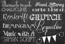 My FONT Obsession / by Carlie Richard