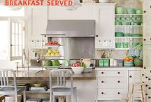 Home: Kitchen  / Kitchen space inspiration and organization / by For My Love Of