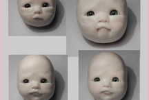 Face, Hands, & Other Body Part PolyClay tutorials / by MagicByLeah