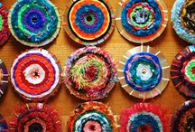 yarn & fiber crafts to try / by Terri Vance Hoy